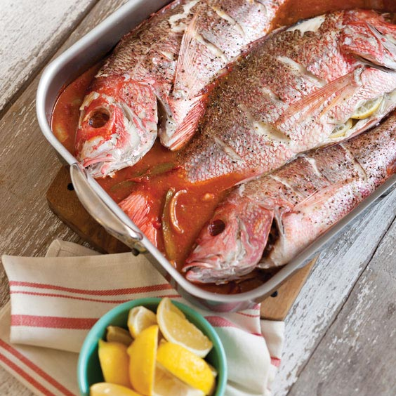 Oven baked redfish recipes besto blog for Red fish recipes