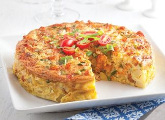 Crawfish Tortilla Espanola