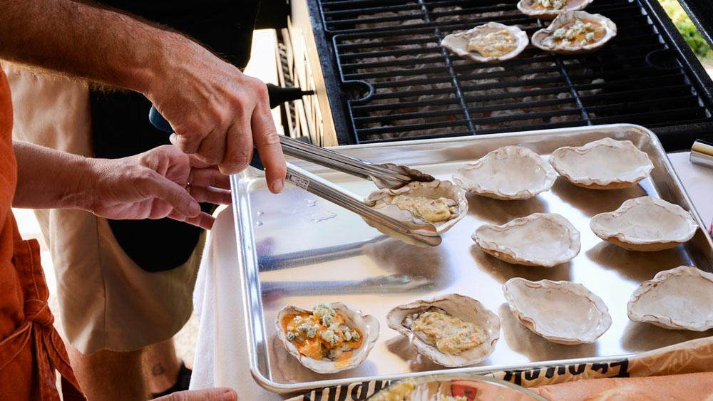 Loftin Oysters - Grilling