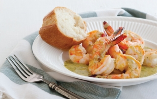 Shrimp Scampi for Lent