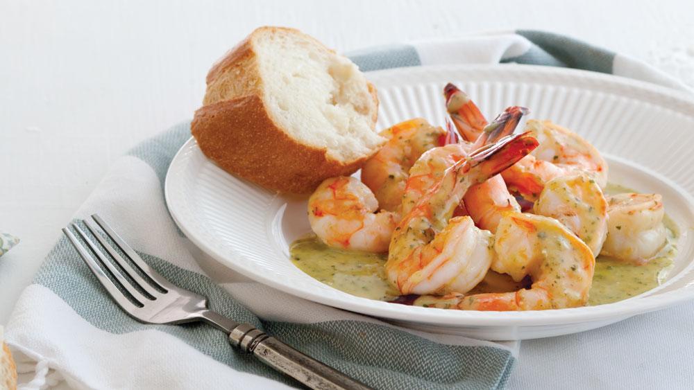 Shrimp Scampi for Lent