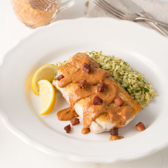 Snapper with Red Bean Sauce