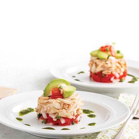 Crab Napoleon