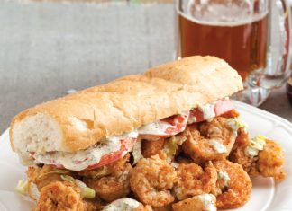 Fried Shrimp Po Boys