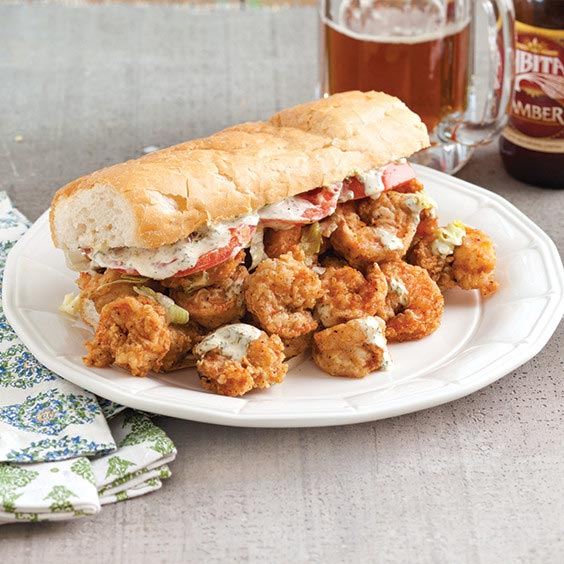 Fried Shrimp Po' Boy
