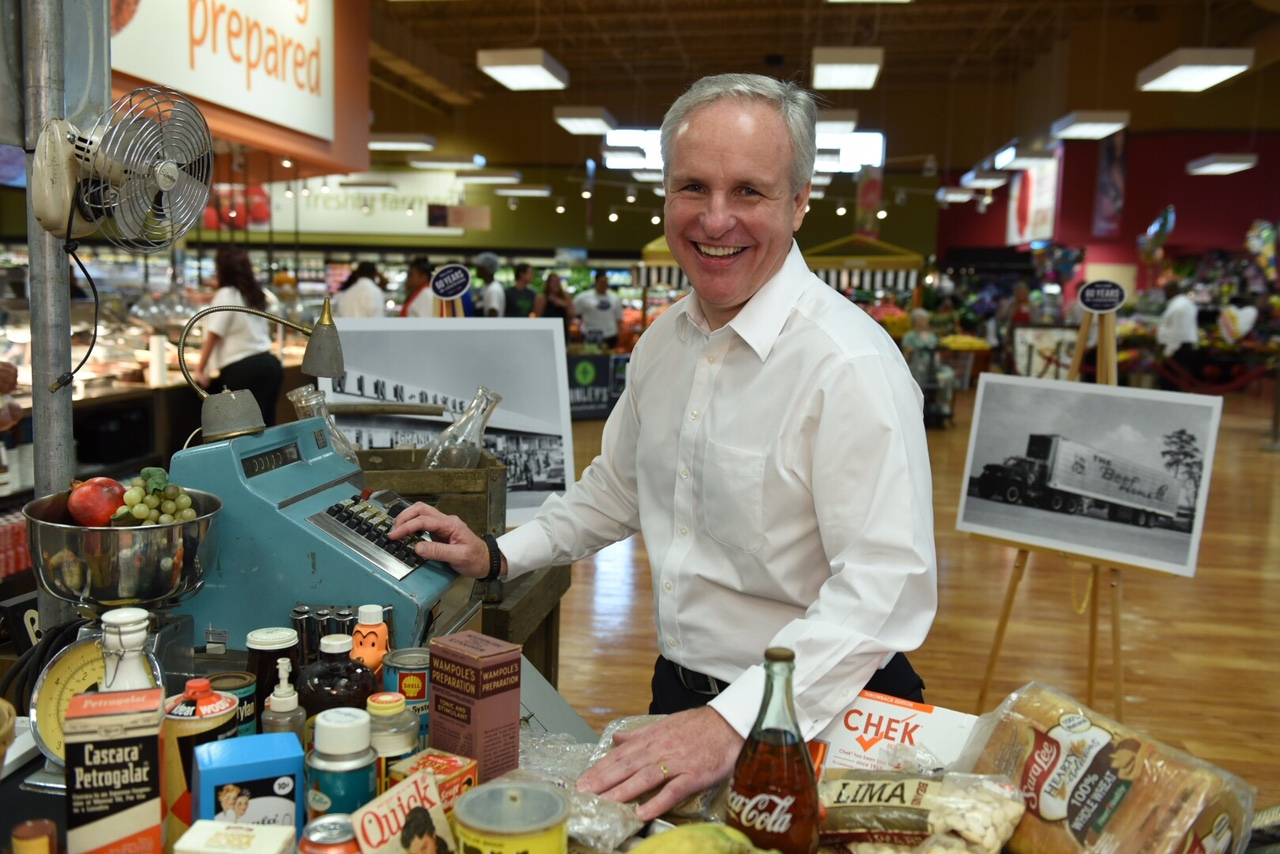 Winn-Dixie - Southeastern Grocers COO Anthony Hucker. Photo courtesy of Southeastern Grocers.