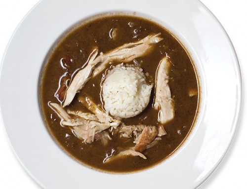 Filé Gumbo with Rabbit & Andouille Sausage