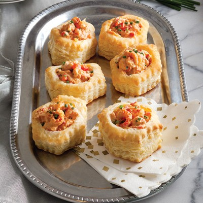 Crawfish Salad Puffs - Holiday Appetizers
