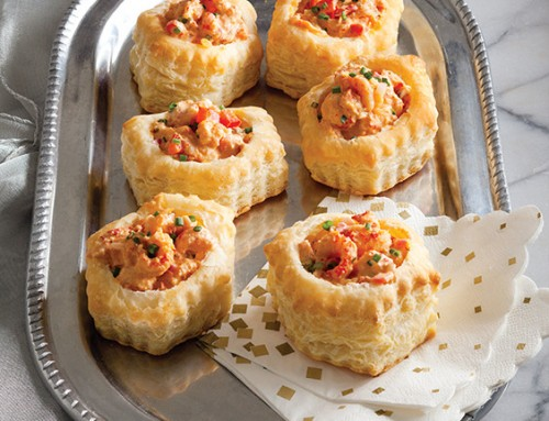 Crawfish Salad Puffs