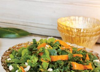 Hearty Winter Greens Salad