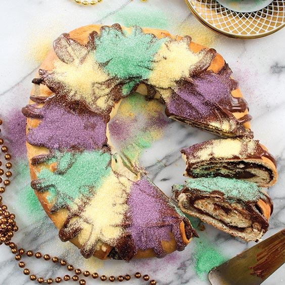 Louisiana Cookin King Cake Recipe