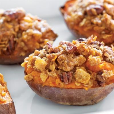 twice-baked yams