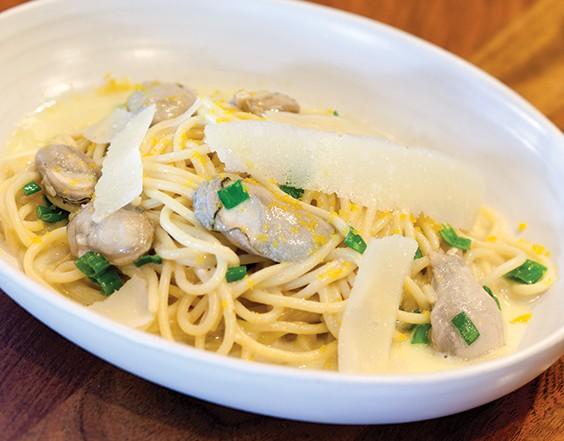 oyster spaghetti
