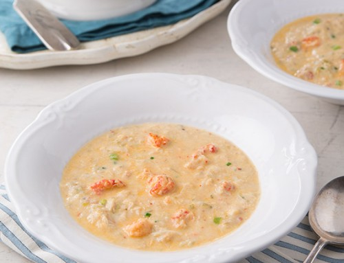 Crawfish, Crab, and Mirliton Cream Soup