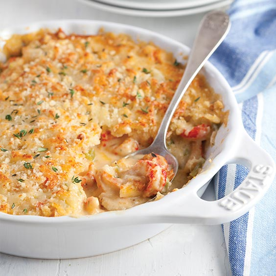 crawfish gratin