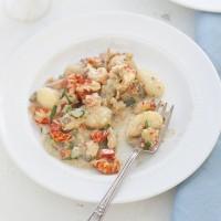 Gnocchi with Crawfish Sauce