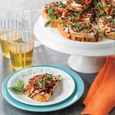Crispy Feta Toasts with Pancetta