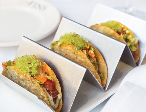 Firecracker Tuna Tacos