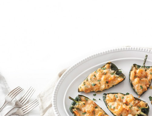 Shrimp-Stuffed Poblano Peppers
