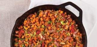 B.L.T. Sweet Potato Hash