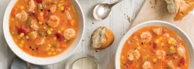 Autumn Shrimp Soup