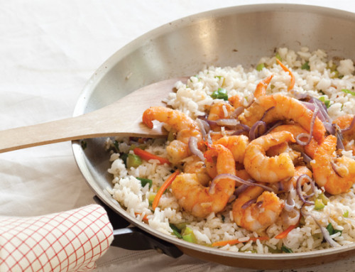Claudius's Louisiana Stir-Fry Shrimp