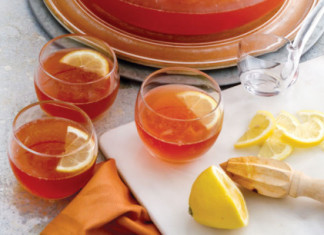 Rosy Citrus Punch
