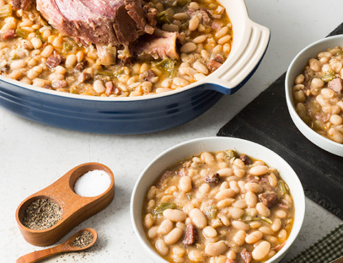 White Beans with a Cajun Accent