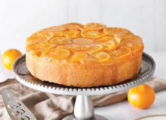 Satsuma Upside Down Cake