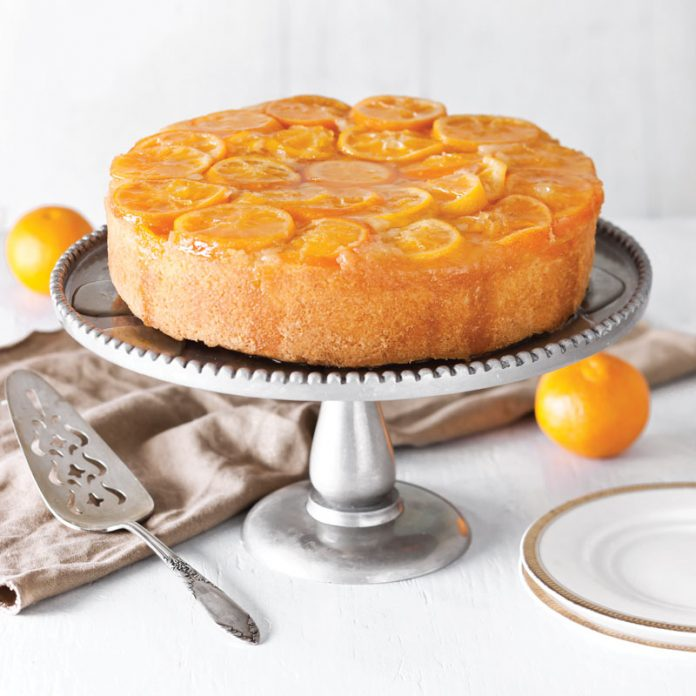 Satsuma Upside Down Cake