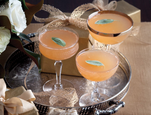Grapefruit-Sage Champagne Cocktail