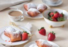 Strawberry Jam Beignets