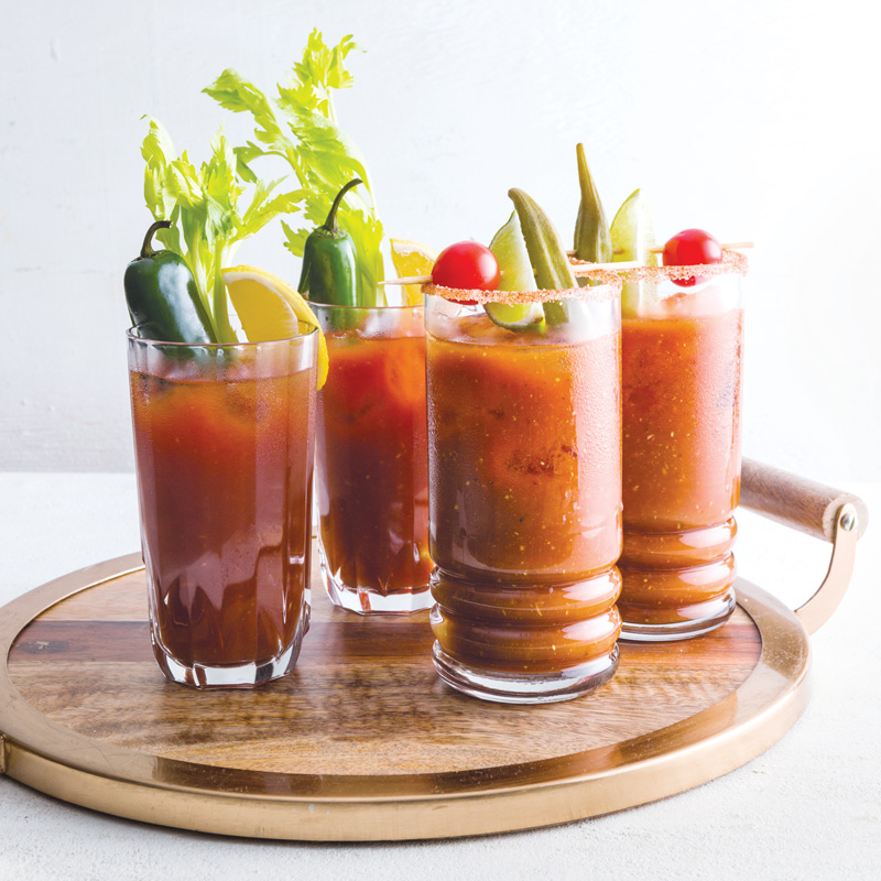Bayou Bloody Mary - Louisiana Cookin