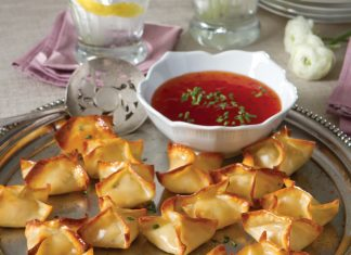 crawfish rangoons