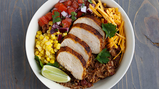 Red Beans and Rice Burrito Bowl