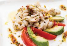 crabmeat and avocado salad