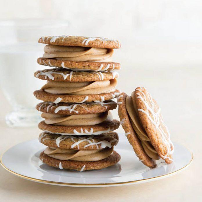Café Au Lait Sandwich Cookies